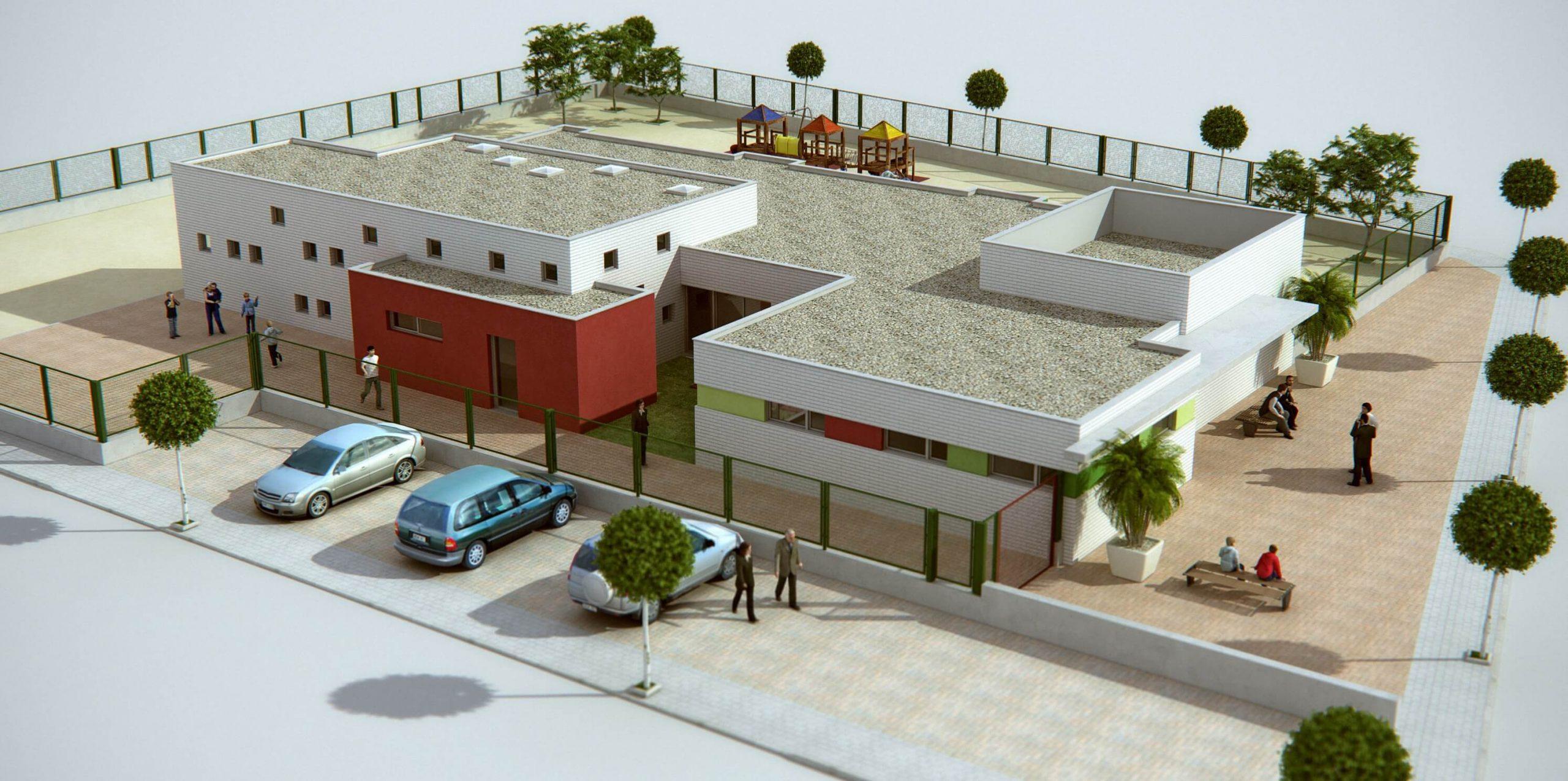 Mumarq Interiorismo y Arquitectura - Colegio Atención Infancia