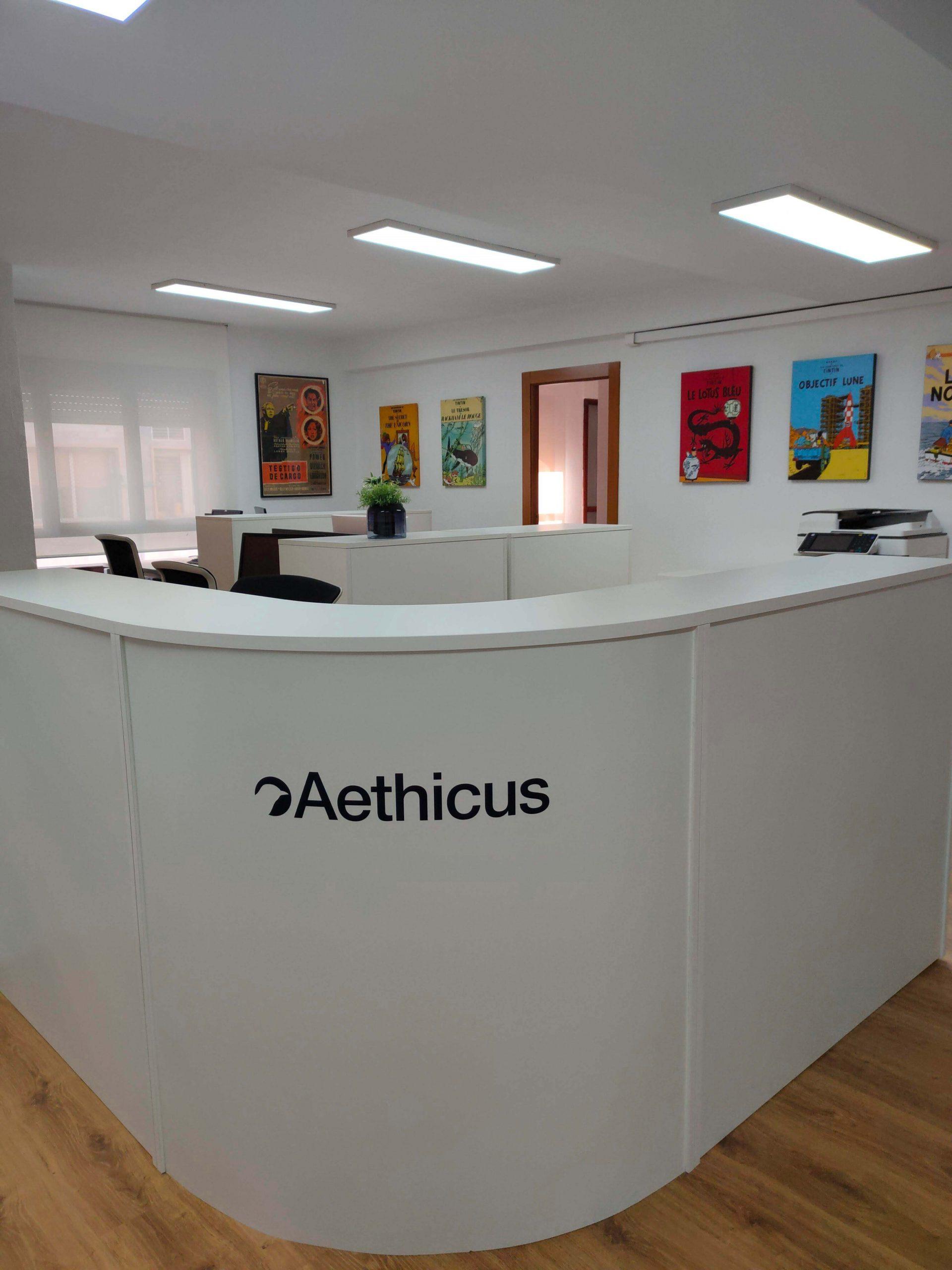 Mumarq Interiorismo y Arquitectura - Reforma Oficina Aethicus