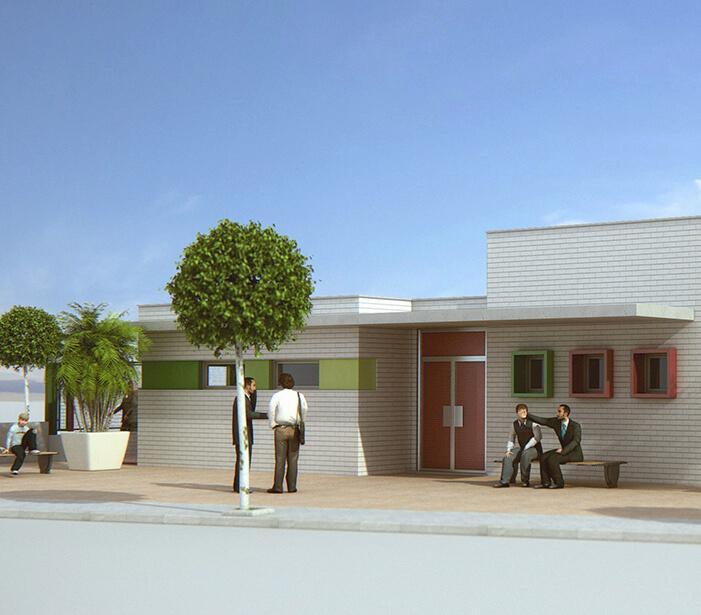 Mumarq Interiorismo y Arquitectura - Arquitectura Colegio San Pedro