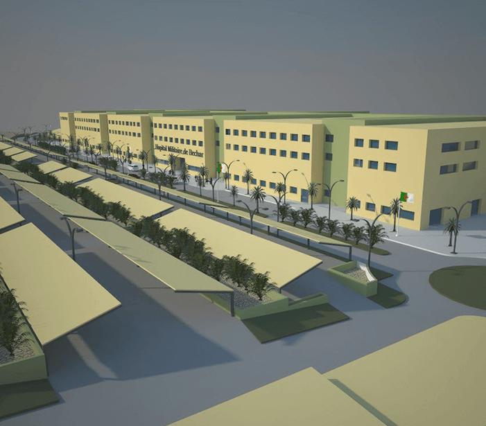 Mumarq Interiorismo y Arquitectura - Arquitectura Hospital Argelia