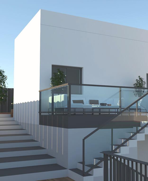 Mumarq Interiorismo y Arquitectura - Arquitectura Vivienda Unifamiliar 2020