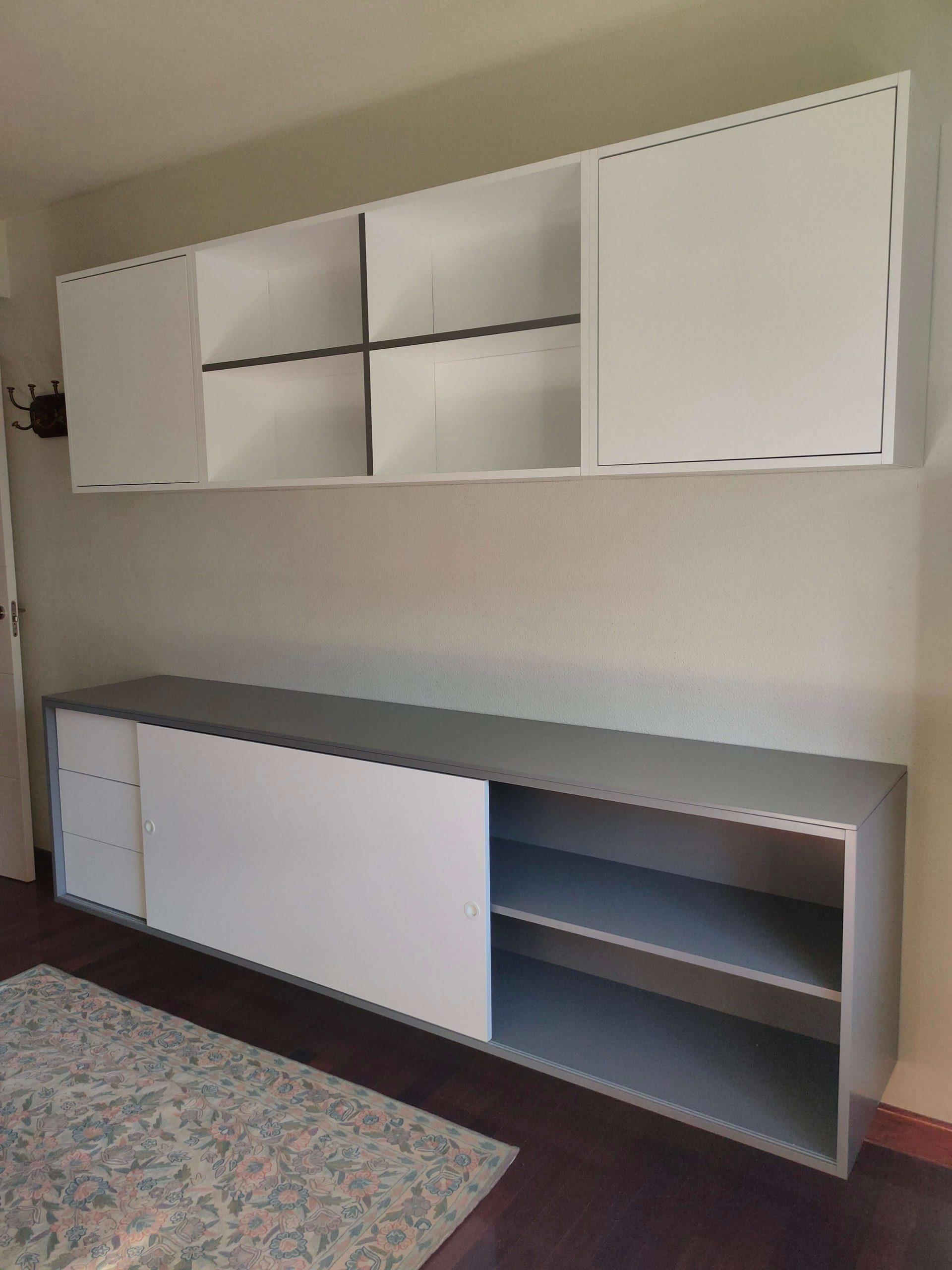 Mumarq Interiorismo y Arquitectura - Diseño de mueble contenedor